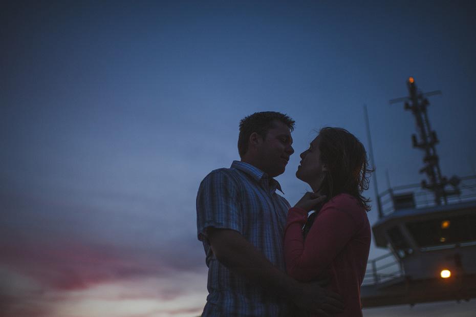 Kingston Peninsula Engagement Photography