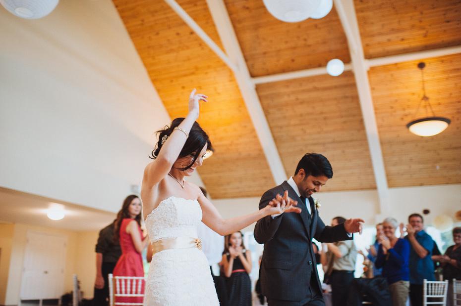 Meg and Sanj - Oromocto Wedding