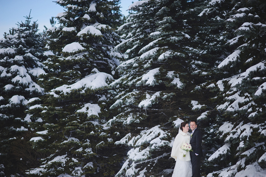 Sarah and Colin - Winter Wedding - Saint John, NB