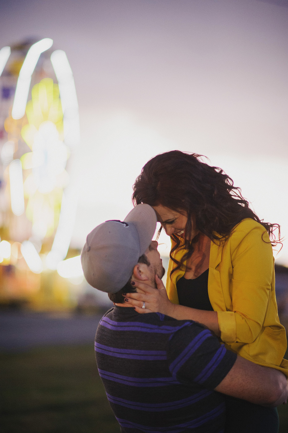 Ashley and Ryan - Carnival Engagement