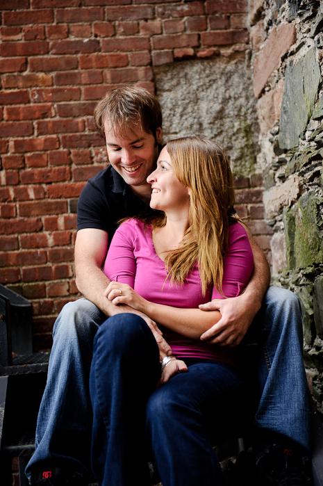 Paulette and Jon, Saint John, NB