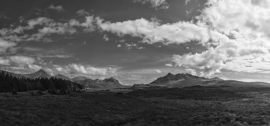 Isle of Skye Mountains