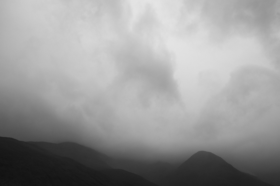 Minimalist Scottish Landscape