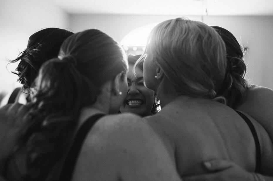 Bridesmaids Group Hug