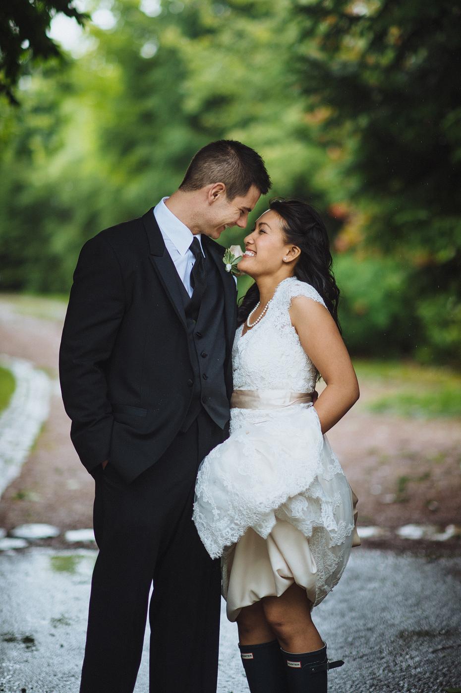 Hurricane Wedding Portrait