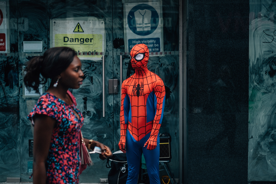 Spiderman, Dublin Streets