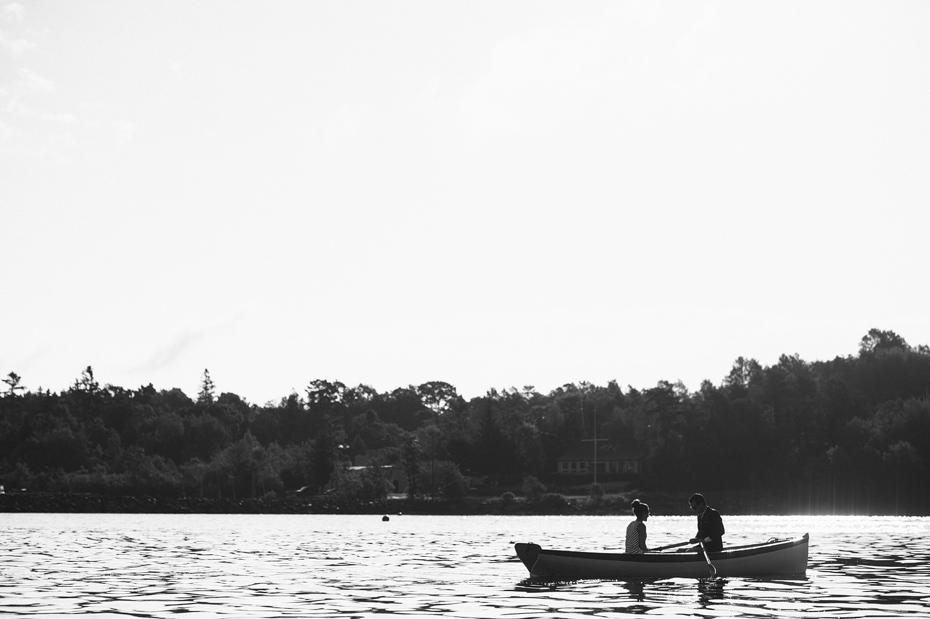 Rowboat Couple