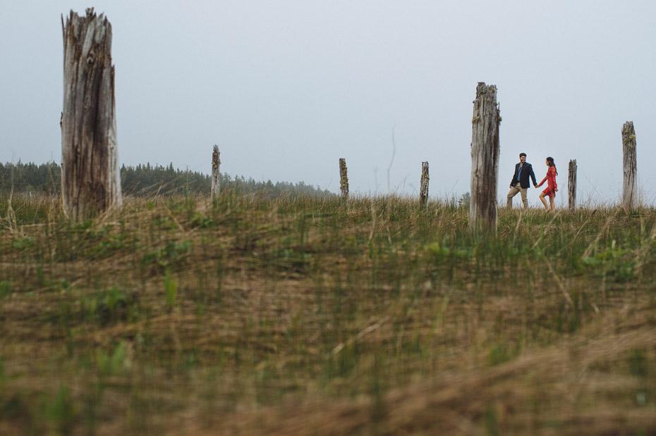 Foggy Engagement Photos