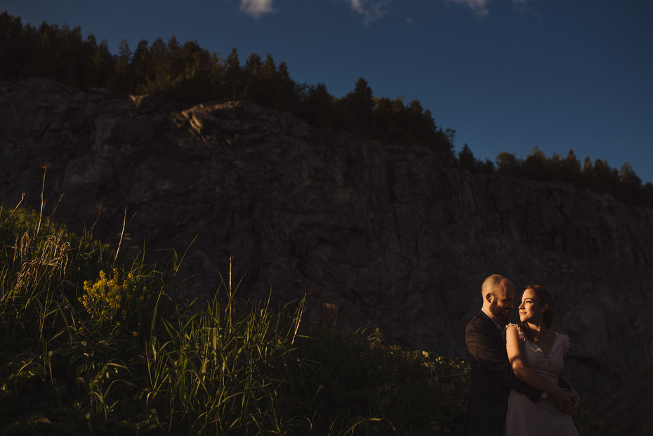 Direct Light Engagement Photo