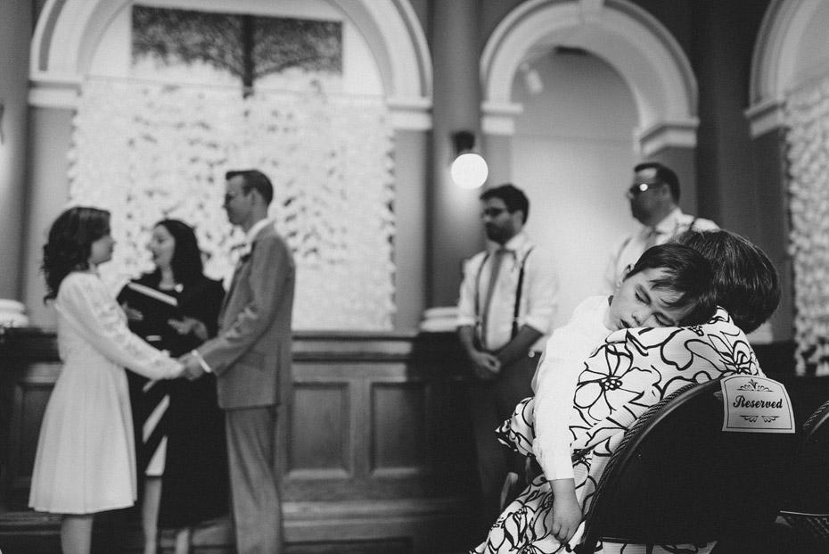 Saint John Arts Center Wedding Ceremony