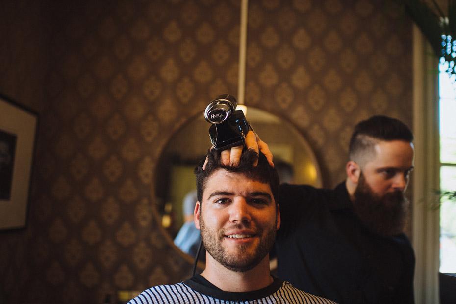 Century Barbers Groomsmen