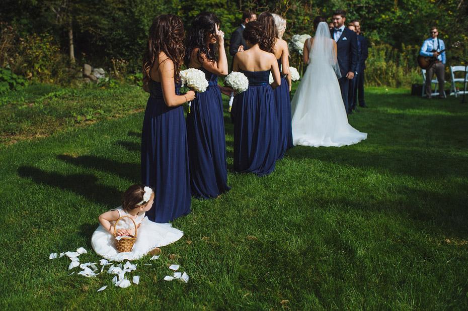 St Andrews Algonquin Wedding Ceremony