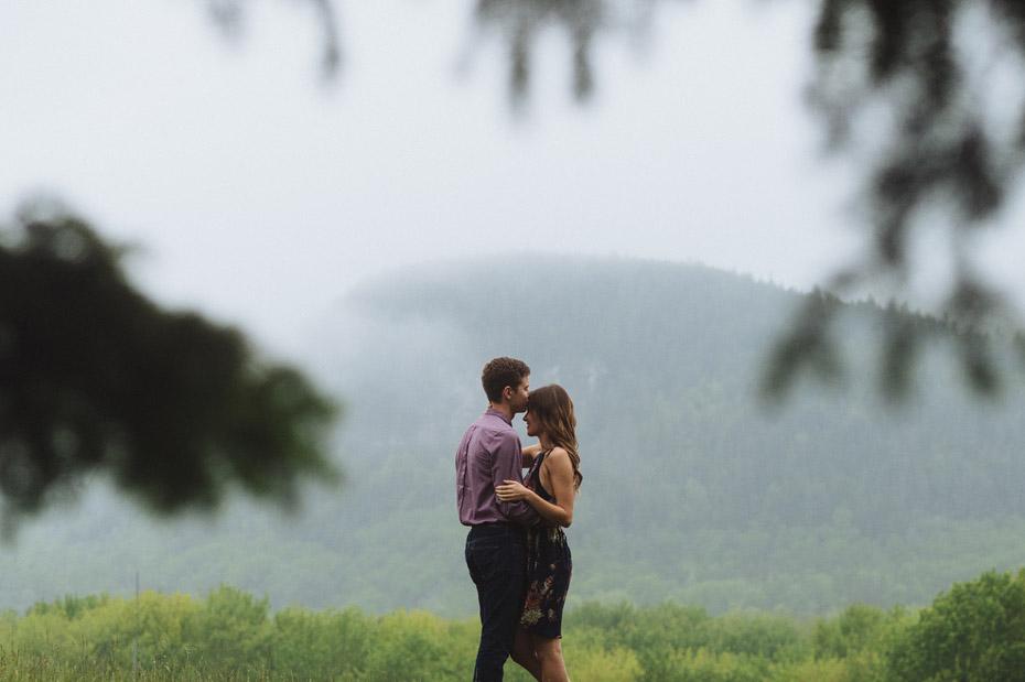 Foggy New Brunswick Engagement