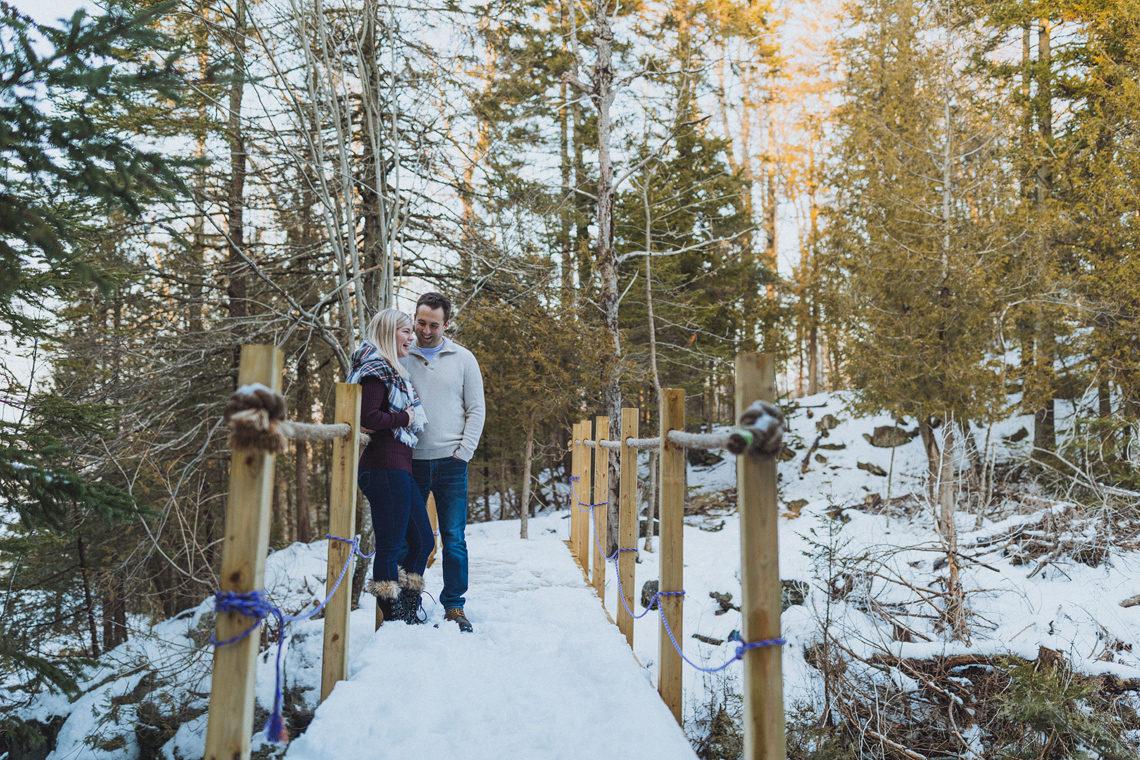 winter engagement