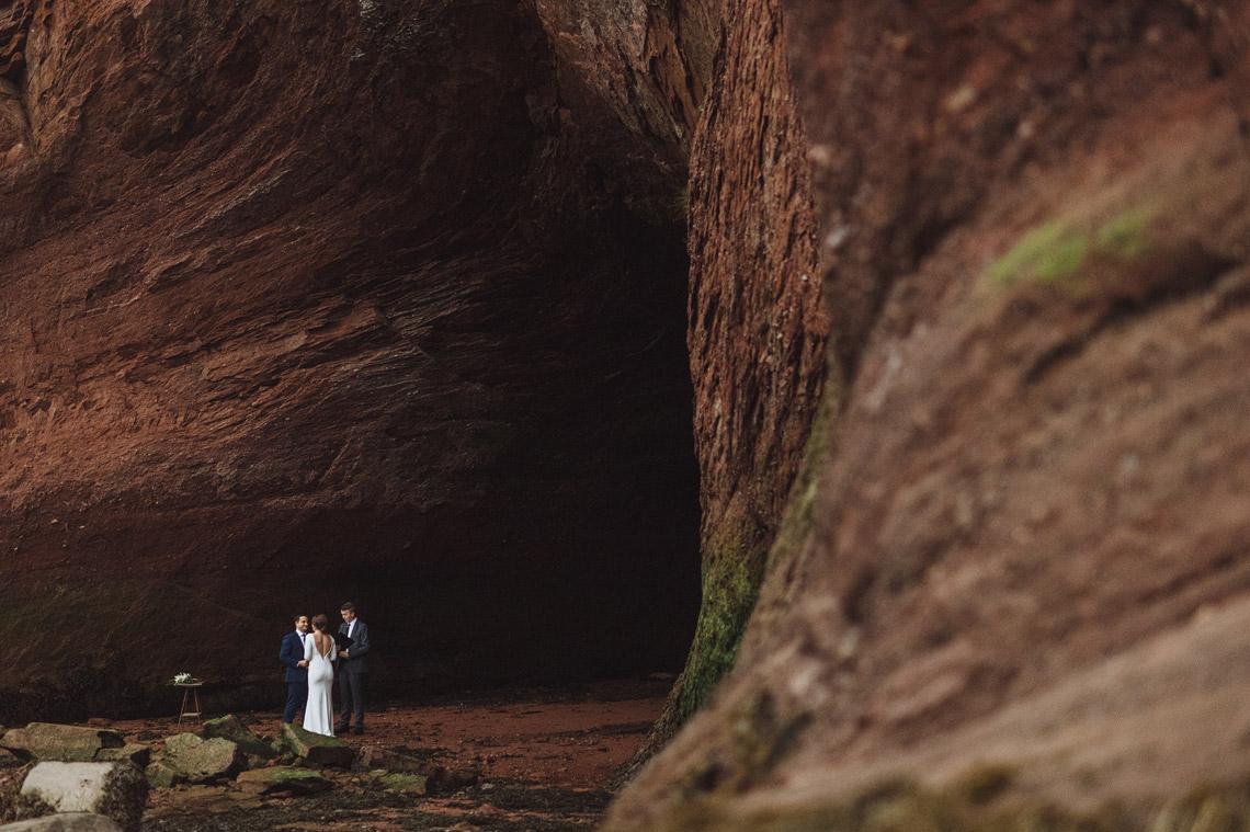 Sea Cave Elopement